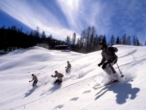 Skiing in Steamboat Springs, CO